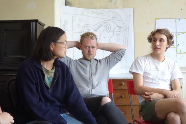 Werkstatt: Freiraum Spielraum Bauraum_Dozenten: Henriette, Tobias und Leopold